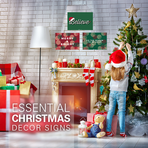 Essential Christmas Signs