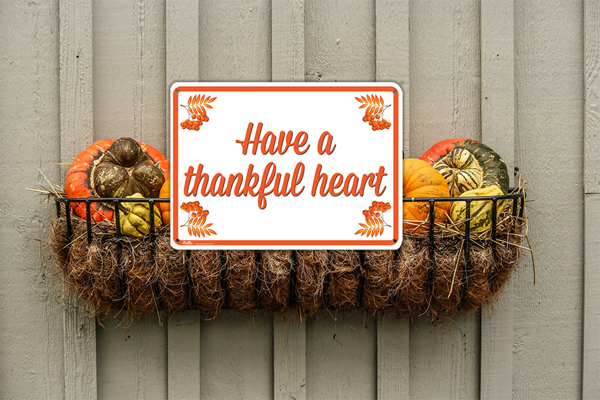 Have A Thankful Heart