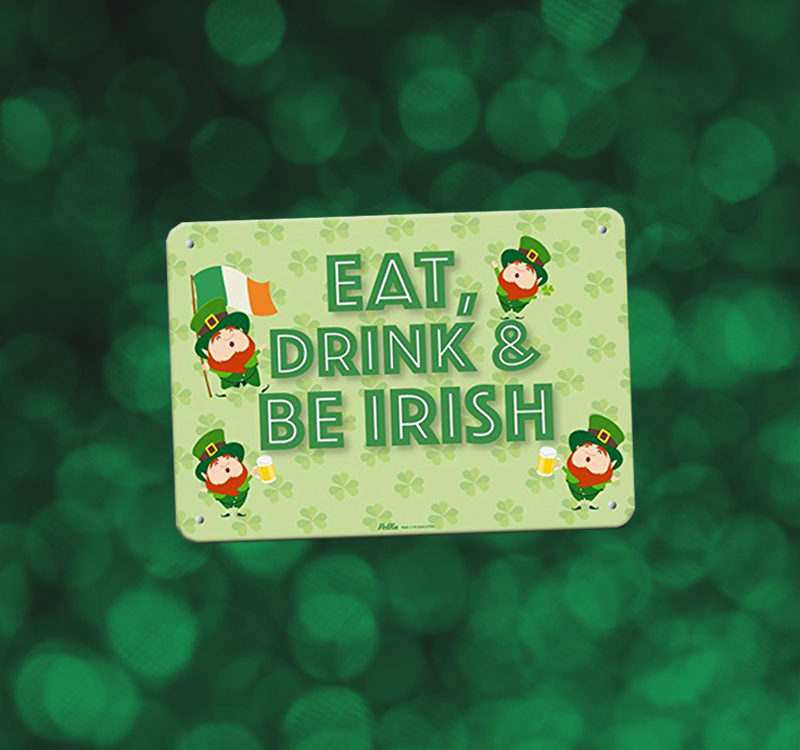 St Patricks Day Sign